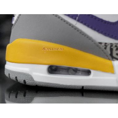 Air Jordan Legacy 312 Lakers AV3922-157 White/Field Purple-Amarillo Sneakers