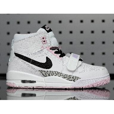 Air Jordan Legacy 312 GS White Black Pink Foam AT4040-106 White/Black-Pink Foam Sneakers