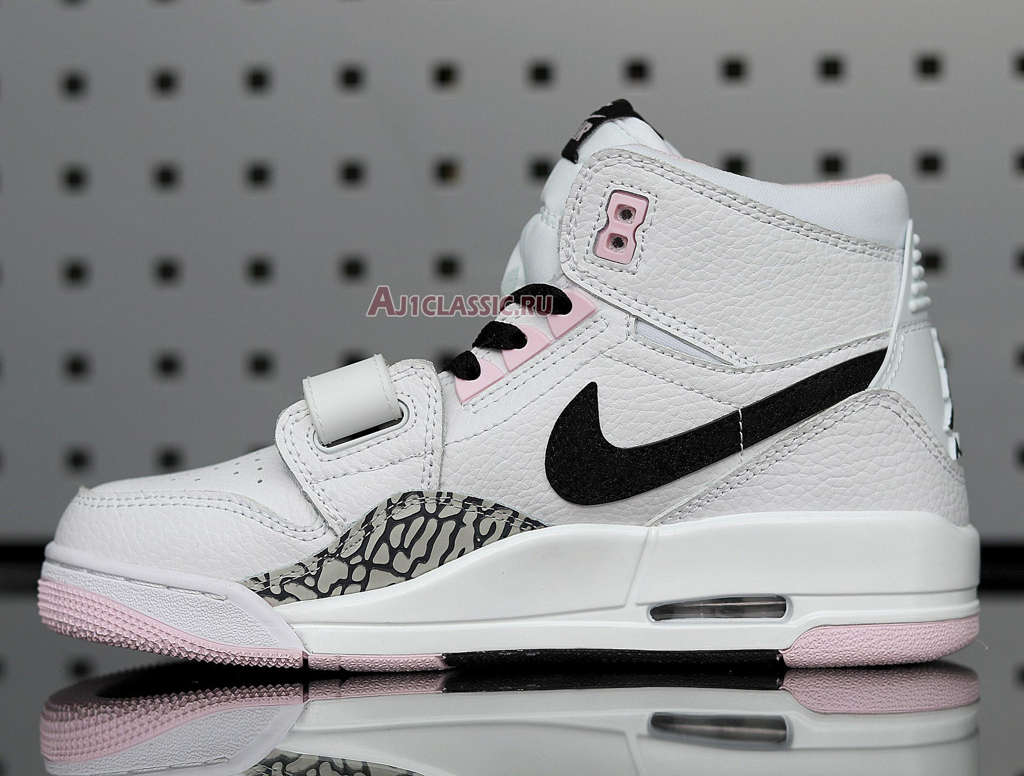 "Air Jordan Legacy 312 GS ""White Black Pink Foam"" AT4040-106"
