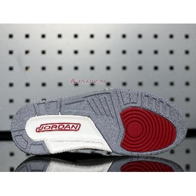 Air Jordan Legacy 312 Low Bred Cement CD9054-006 Black/Black-Cement Grey-Gym Red Sneakers