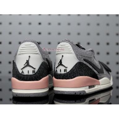 Air Jordan Legacy 312 Low Gunsmoke CD9054-002 Gunsmoke/Coral Stardust Sneakers