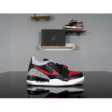 Air Jordan Legacy 312 Low PS Bred Cement CD7069-006 Black/University Red Sneakers