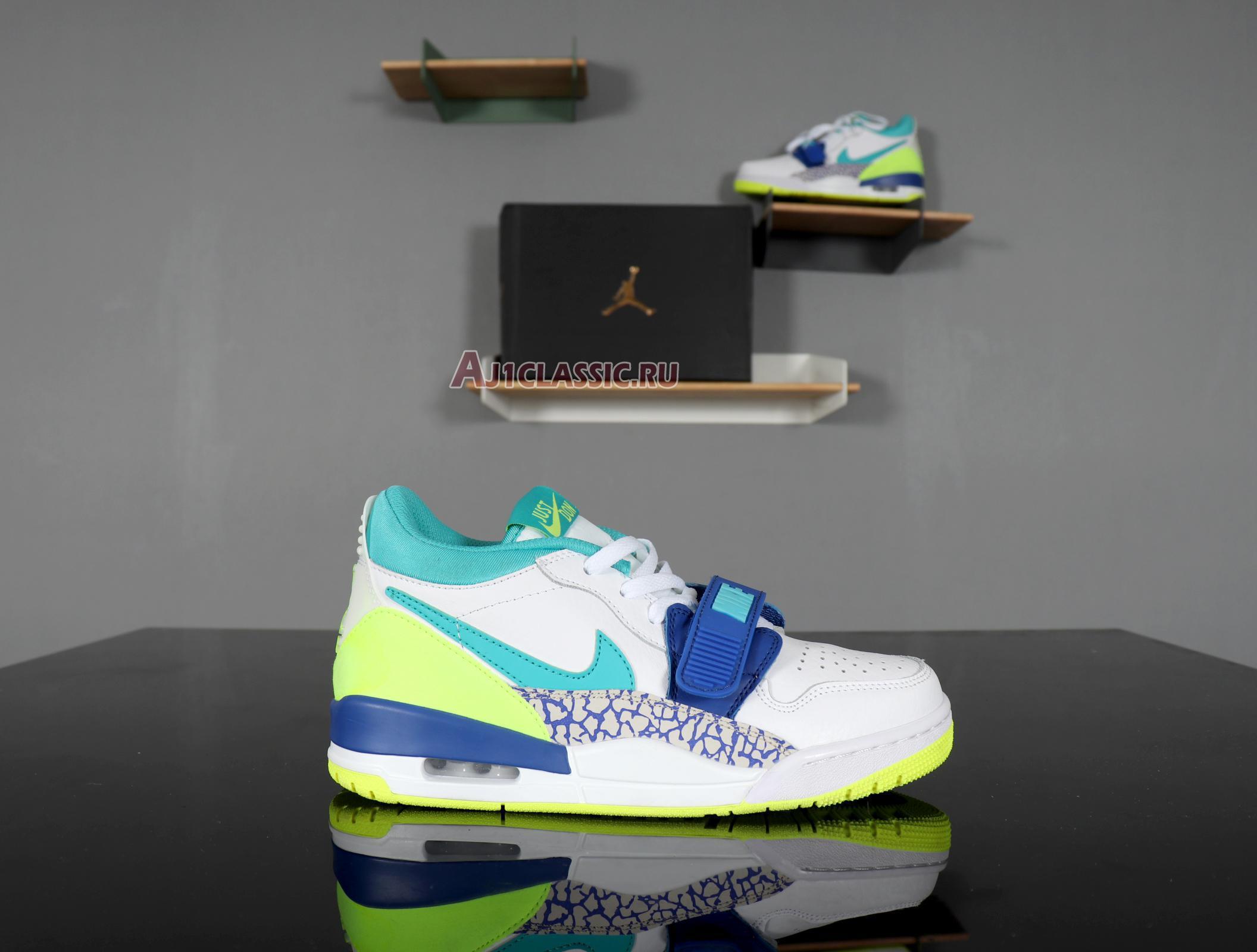 """Just Don x Air Jordan Legacy 312 Low """"Neon Aquamarine"""" CD7069-103"""