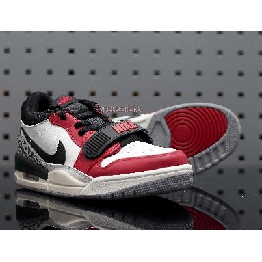 Air Jordan Legacy 312 Low Chicago CD7069-106 Summit White/University Red-Black Sneakers