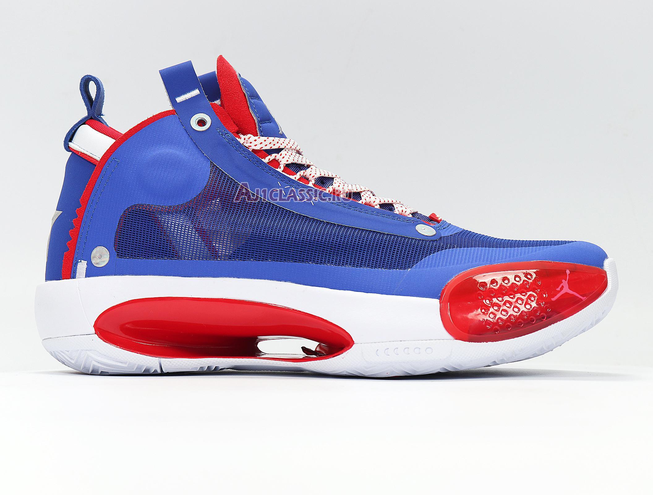 """Air Jordan 34 PF """"Captain America"""" BQ3381-123"""