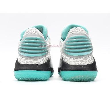 Air Jordan 32 Low Guo Ailun PE AH3347-101 Black/Metallic Silver-Multicolor Sneakers