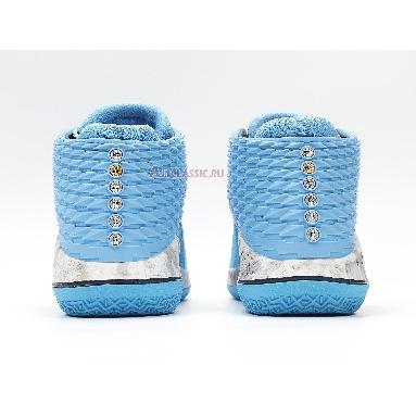 Air Jordan 32 UNC AA1253-406 University Blue/College Navy-White Sneakers