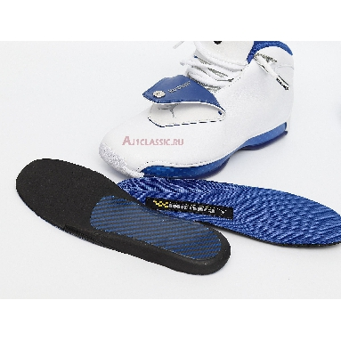 Air Jordan 18 Retro White Sport Royal AA2494-106 White/Sport Royal-White-Metallic Silver Sneakers