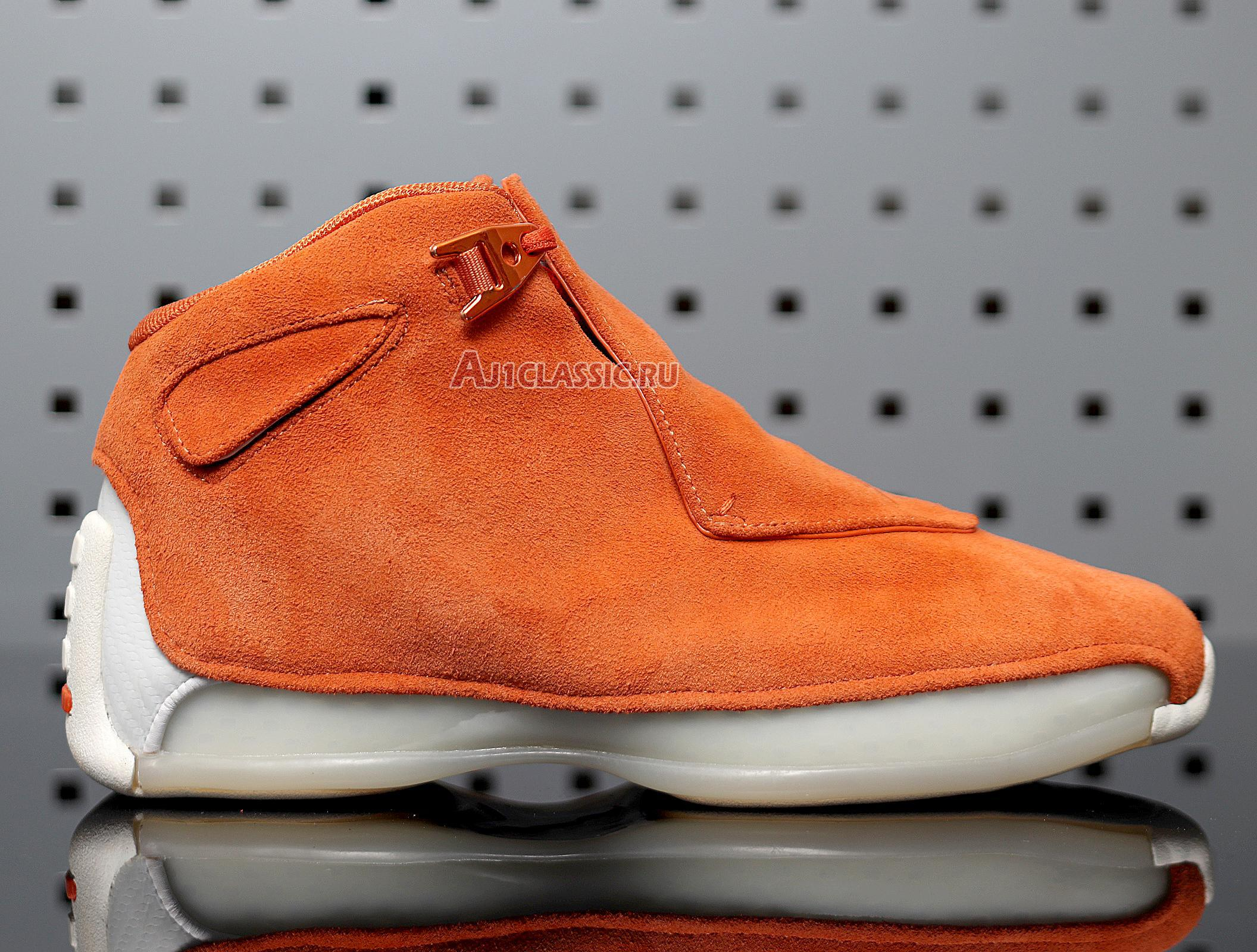 """Air Jordan 18 Retro """"Orange Suede"""" AA2494-801"""