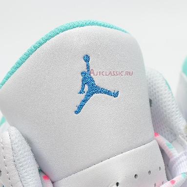 Air Jordan 13 Retro GS Aurora Green 439358-100 White/Soar-Aurora Green-Digital Pink Sneakers