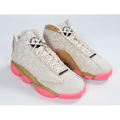 Air Jordan 13 Retro Chinese New Year CW4409-100 Pale Ivory/Black-Digital Pink-Club Gold Sneakers