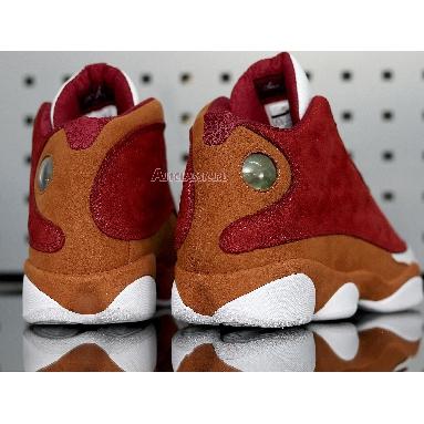 Air Jordan 13 Retro Premio Bin23 417212-601 Team Red/Desert Clay/White Sneakers