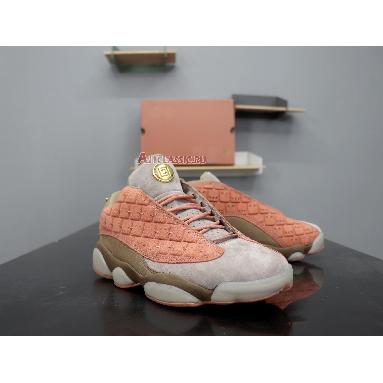 CLOT x Air Jordan 13 Retro Low NRG Terracotta AT3102-200 Sepia Stone/Canteen-Terra Blush Sneakers
