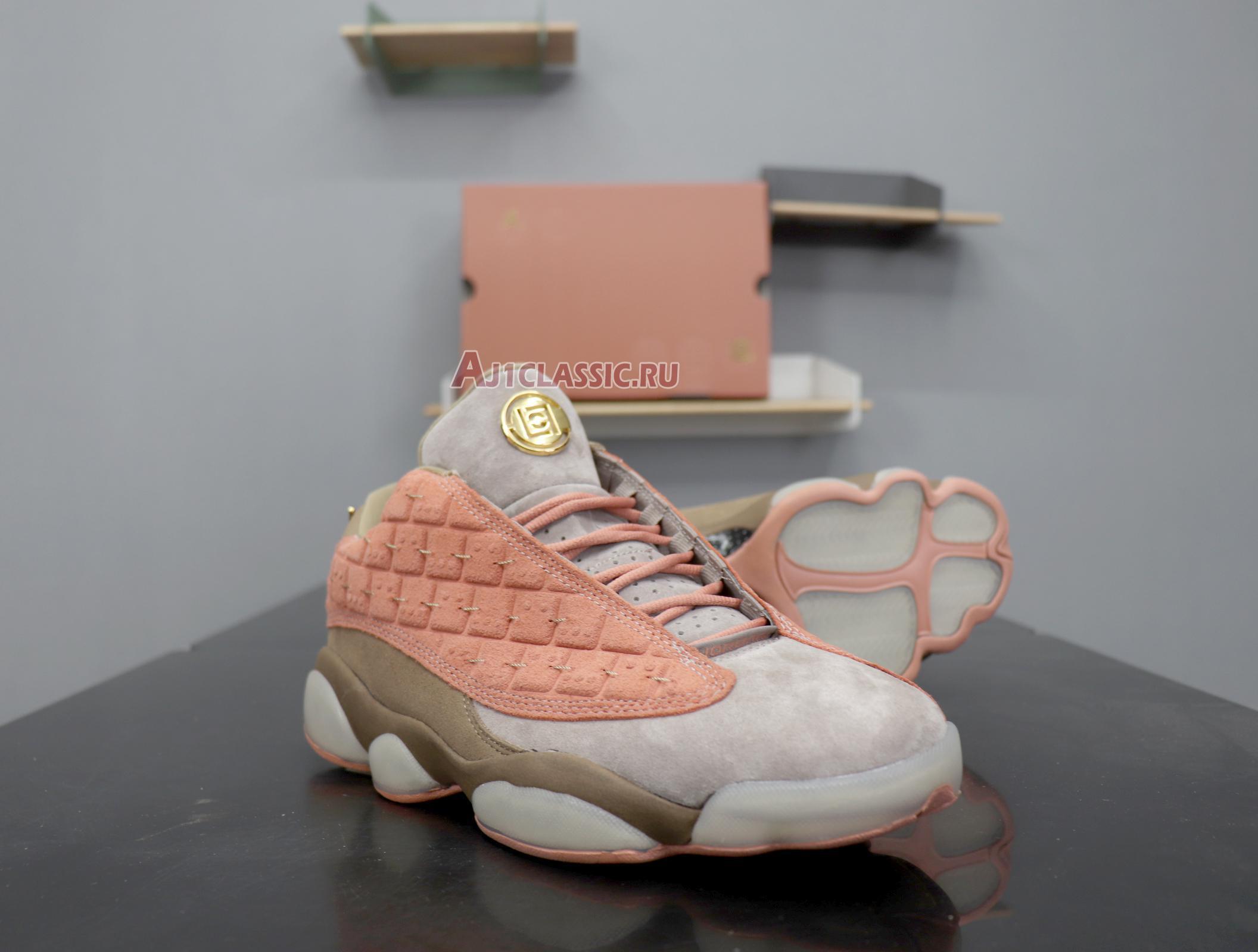 "CLOT x Air Jordan 13 Retro Low NRG ""Terracotta"" AT3102-200"