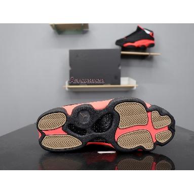 CLOT x Air Jordan 13 Retro Low Infra-Bred AT3102-006 Black/Infrared 23 Sneakers