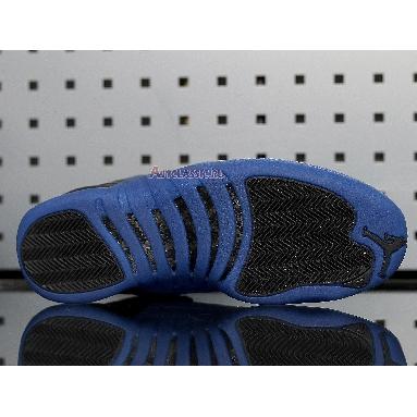 Air Jordan 12 Retro Game Royal 130690-014 Black/Game Royal-Black Sneakers