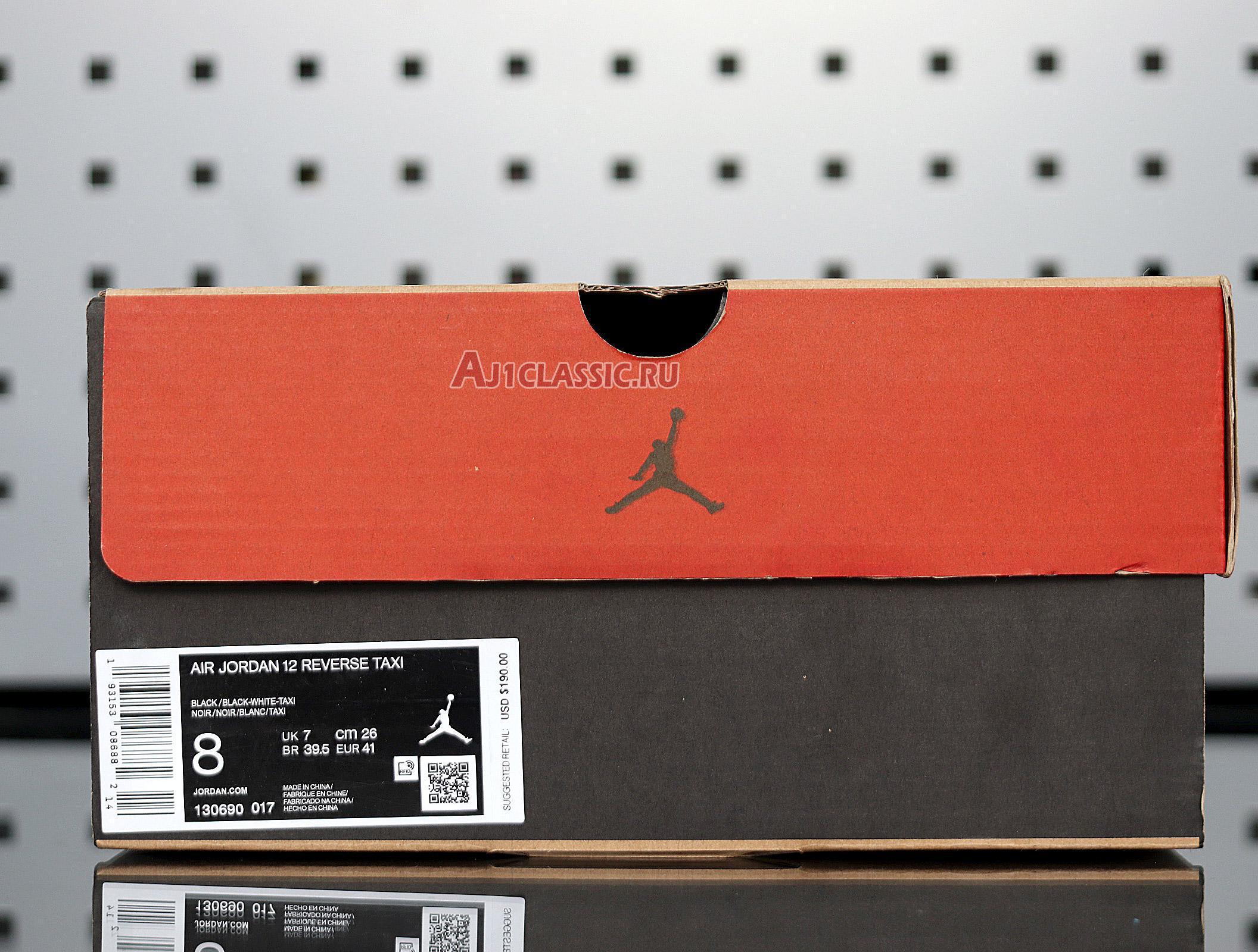 """Air Jordan 12 Retro """"Reverse Taxi"""" 130690-017"""