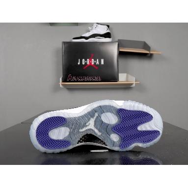 Air Jordan 11 Retro Concord 2018 378037-100 White/Black-Dark Concord Sneakers