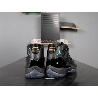 Air Jordan 11 Retro Gamma Blue 378037-006 Black/Gamma Blue-Varsity Maize Sneakers