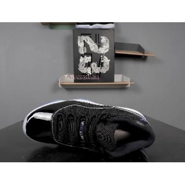 Air Jordan 11 Retro Space Jam 2016 378037-003 Black/Dark Concord-White Sneakers