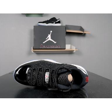 Air Jordan 11 Retro Low Infrared 23 528895-023 Black/Infrared 23-Pr Platinum Sneakers