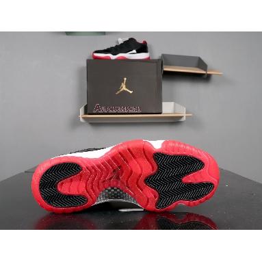 Air Jordan 11 Retro Low Bred 528895-012 Black/True Red White Sneakers