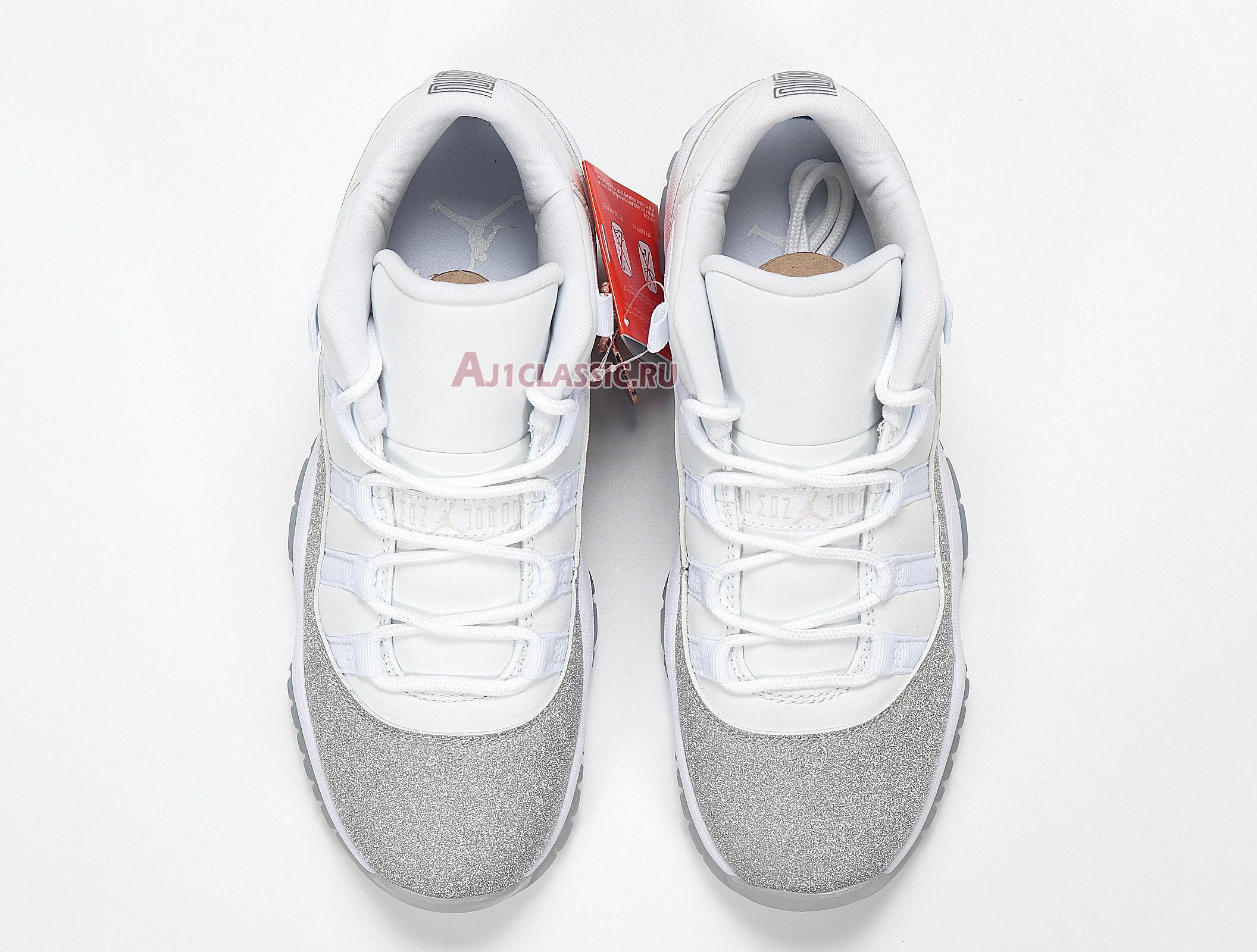 "Air Jordan 11 Retro WMNS Low ""Metallic Silver"" AH0715-100"
