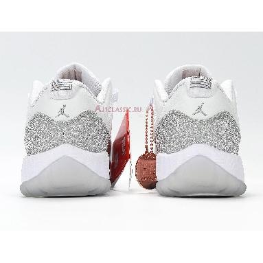 Air Jordan 11 Retro WMNS Low Metallic Silver AH0715-100 White/Metallic Silver-Vast Grey Sneakers