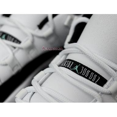 Air Jordan 11 Retro Low Emerald 528895-145 White/Emerald Rise-Black Sneakers