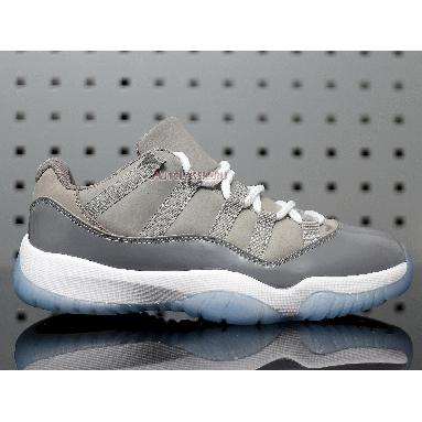 Air Jordan 11 Retro Low Cool Grey 528895-003 Medium Grey/Gunsmoke-White Sneakers