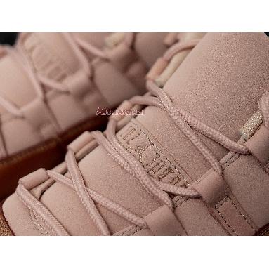 Air Jordan 11 Low Rose Gold AH7860-105 Sail/Metallic Red Bronze-Gum Brown Sneakers
