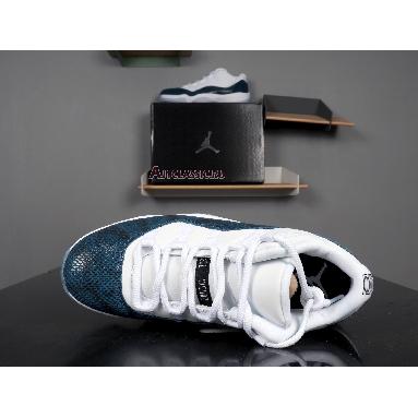 Air Jordan 11 Retro Low Navy Snakeskin 2019 CD6846-102 White/Black-Navy Sneakers