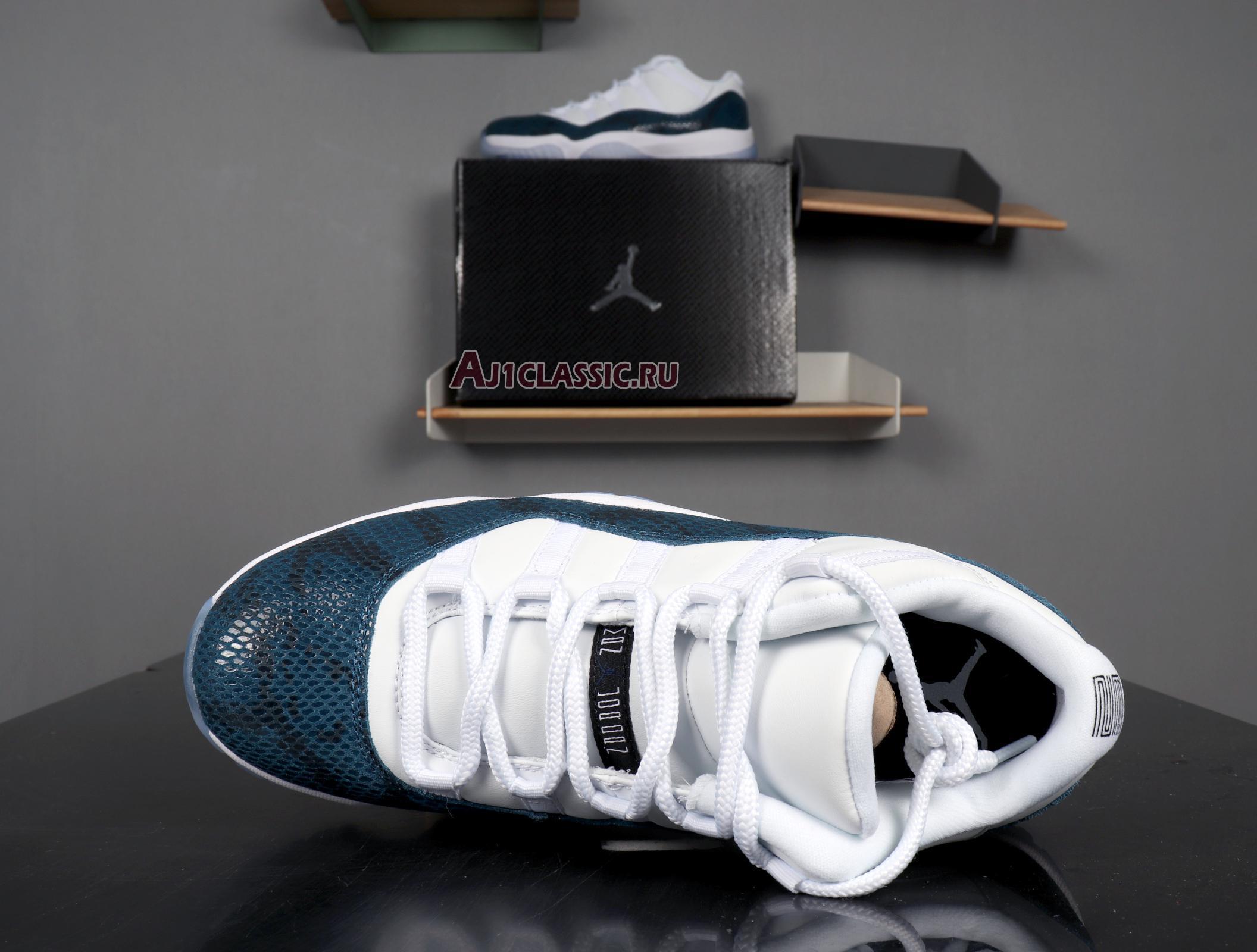 "Air Jordan 11 Retro Low ""Navy Snakeskin"" 2019 CD6846-102"