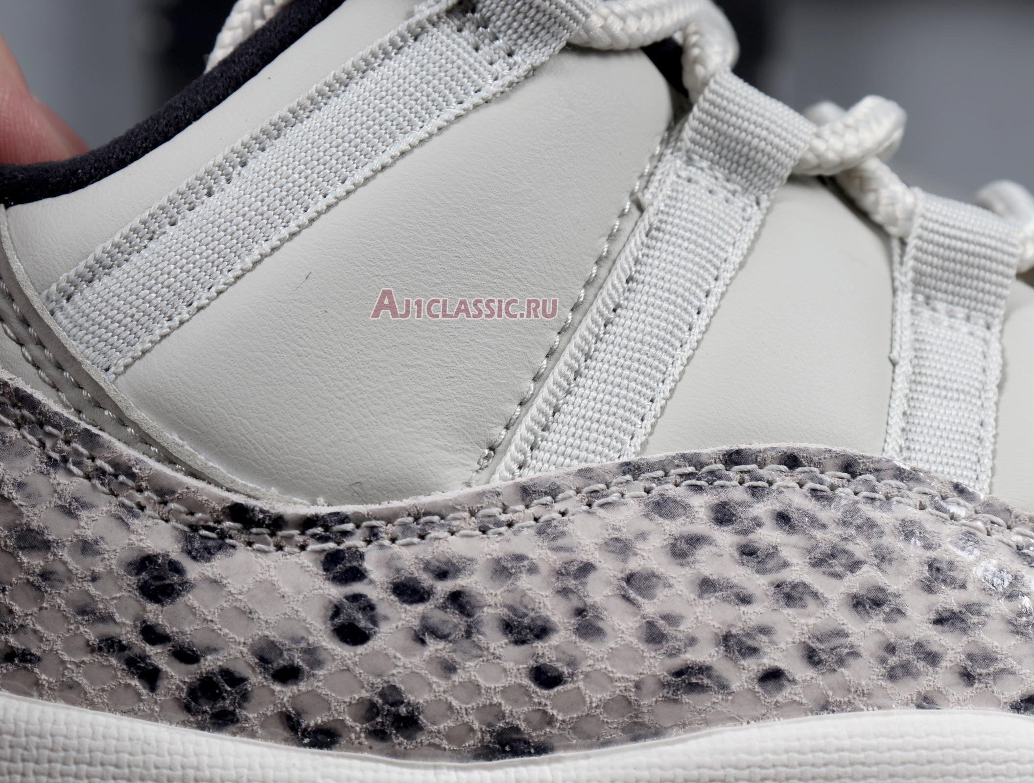 "Air Jordan 11 Retro Low ""Light Bone Snakeskin"" CD6846-002"