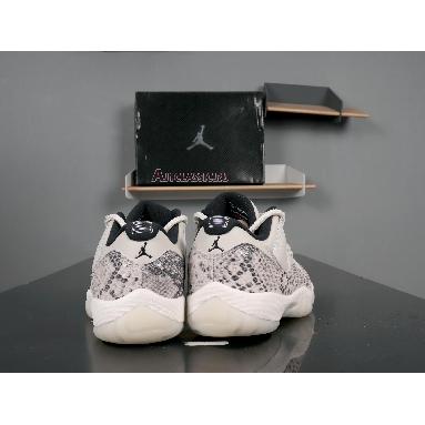 Air Jordan 11 Retro Low Light Bone Snakeskin CD6846-002 Light Bone/University Red-Sail-Black Sneakers