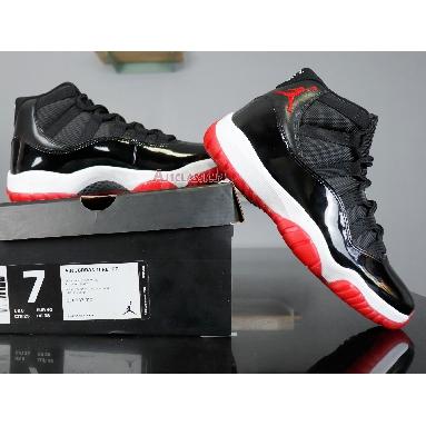 Air Jordan 11 Retro Bred 2012 378037-010 Black/Varsity Red-White Sneakers