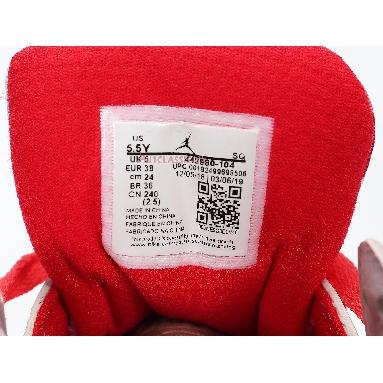 Air Jordan 7 Retro GS Topaz Mist 442960-104 White/Topaz Mist-Ember Glow-Gym Red Sneakers