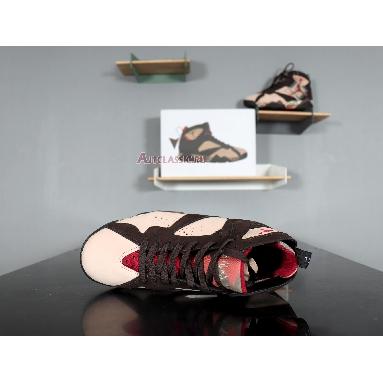 Patta x Air Jordan 7 Retro OG SP Shimmer AT3375-200 Shimmer/Tough Red-Velvet Brown Sneakers