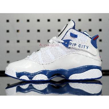 Air Jordan 6 Rings Rip City 322992-051 White/Blue/Red Sneakers