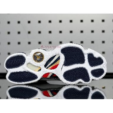 Air Jordan 6 Rings Olympic 322992-161 White/Varsity Red-Midnight Navy-Metallic Gold Sneakers
