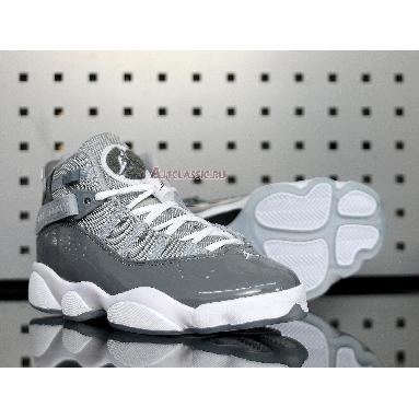 Air Jordan 6 Rings Cool Grey 322992-015 Cool Grey/White-Wolf Grey Sneakers