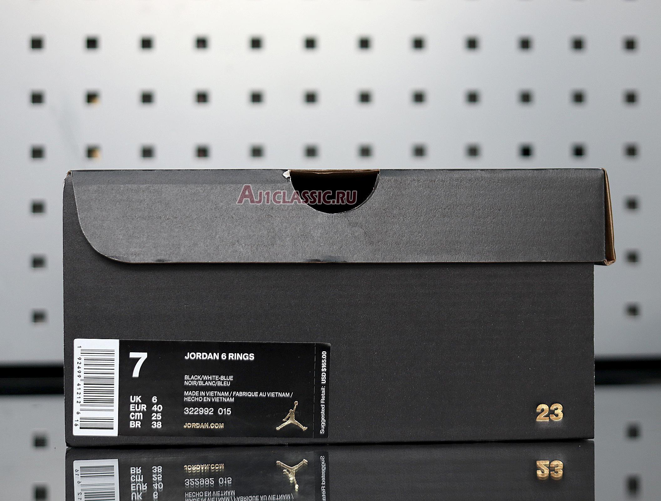 """Air Jordan 6 Rings """"Cool Grey"""" 322992-015"""
