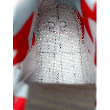 Air Jordan 6 Rings GS Topaz Mist 323399-104 White/Ember Glow-Topaz Mist Sneakers