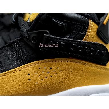 Air Jordan 6 Rings Taxi 322992-700 Yellow/Black/White Sneakers