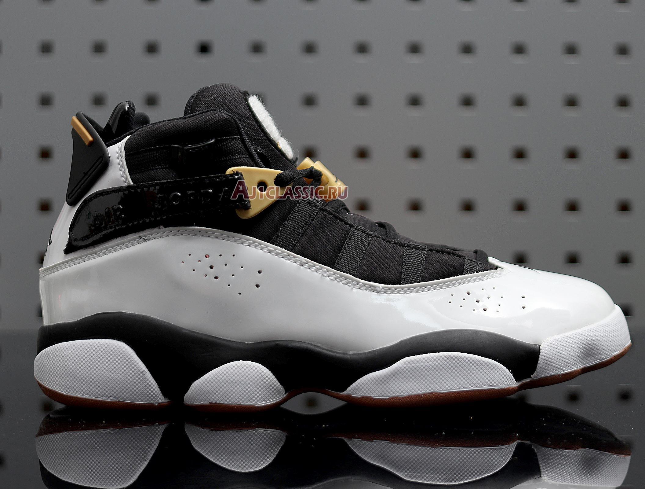 """Air Jordan 6 Rings """"White Black"""" 323399-100"""