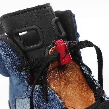 Air Jordan 6 Retro Washed Denim CT5350-401 Washed Denim/Sail-Varsity Red-Black/Navy Sneakers