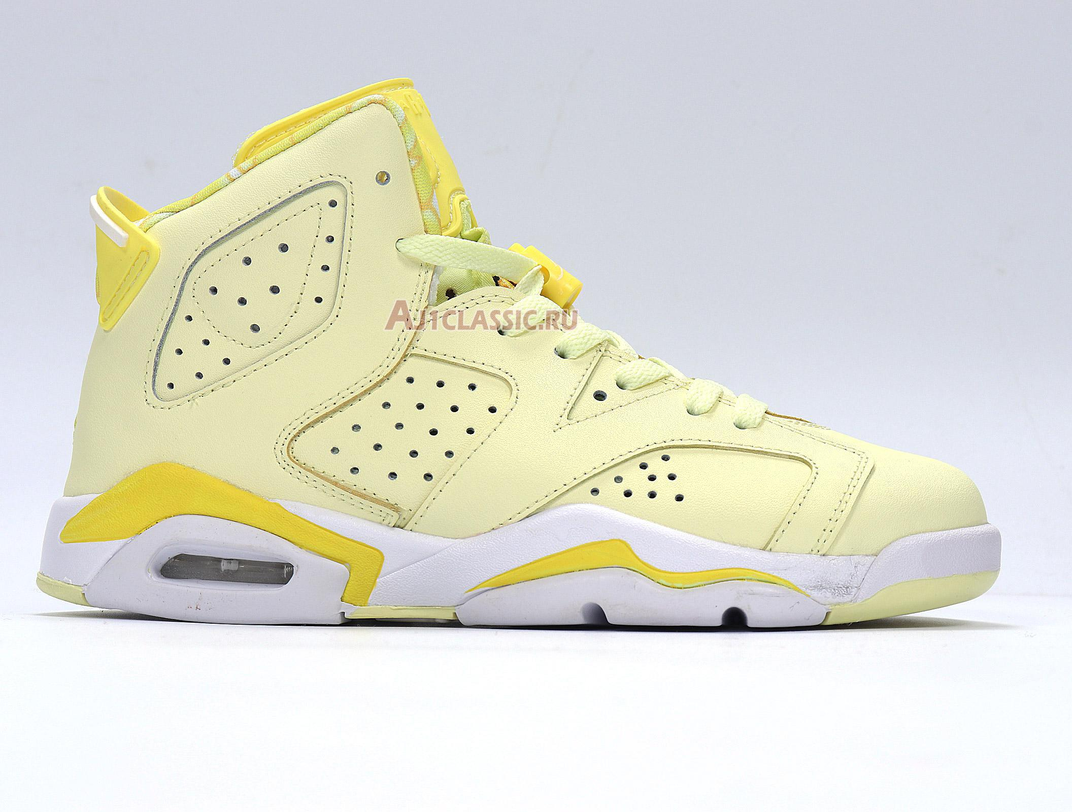 "Air Jordan 6 Retro GG ""Citron Tint"" 543390-800"