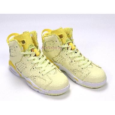 Air Jordan 6 Retro GG Citron Tint 543390-800 Crimson Tint/Dynamic Yellow-Black-White Sneakers