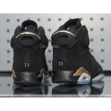 Air Jordan 6 Retro Defining Moments 2020 CT4954-007 Black/Metallic Gold Sneakers