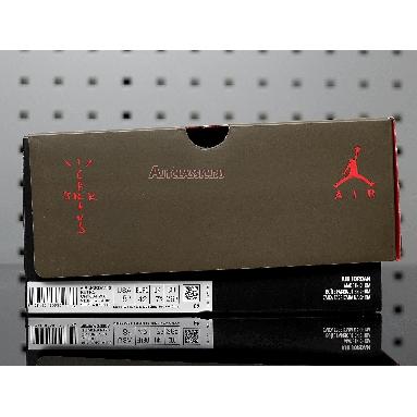 Travis Scott x Air Jordan 6 Retro Medium Olive CN1084-200 Medium Olive/Black-Sail-University Red Sneakers
